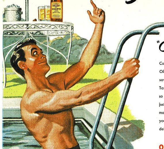 89 Best Images About Retro Vintage Pool Party On Pinterest