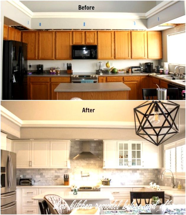 ikea kitchen remodel before and after