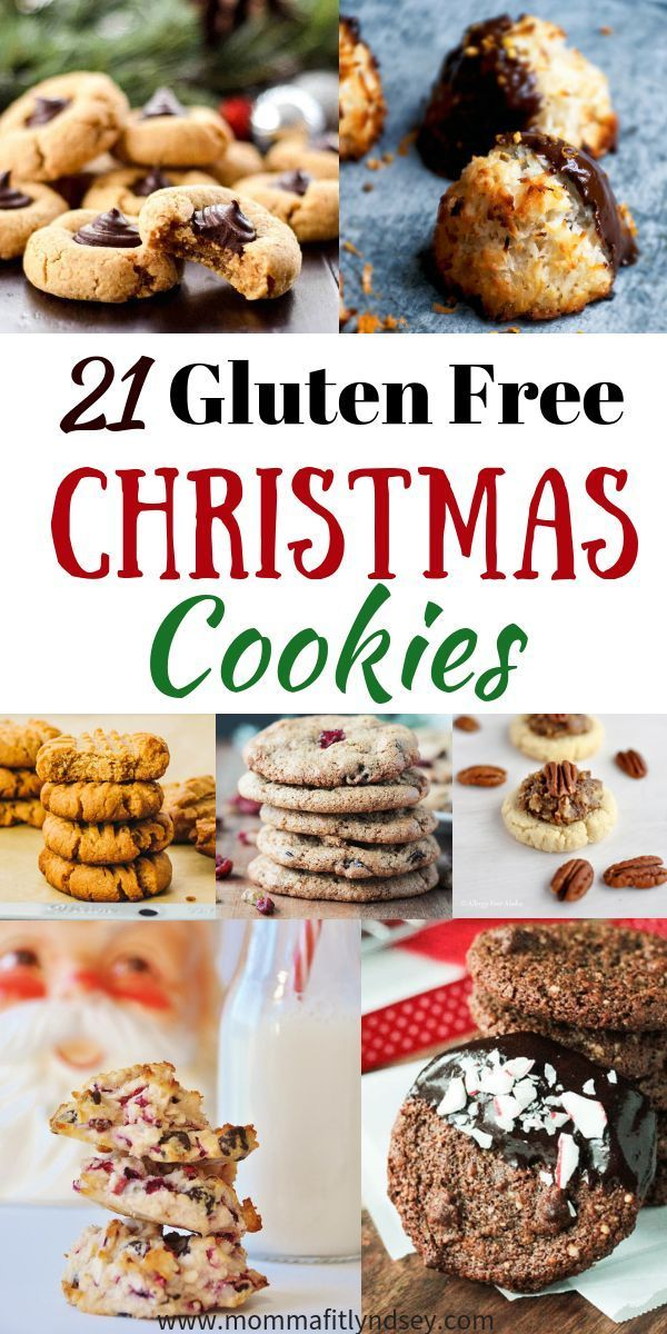 21 Gluten Free Christmas Cookies for a Healthier Christmas Dessert