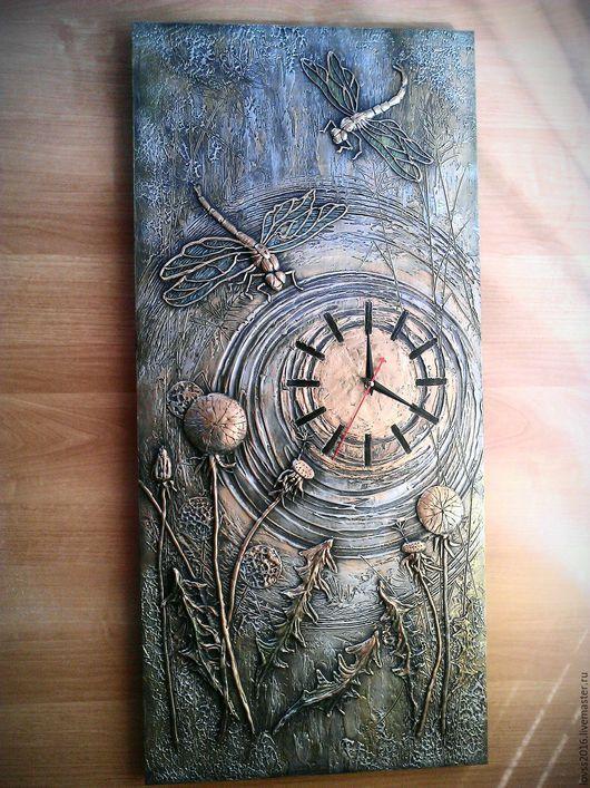 Часы для дома ручной работы. Часы настенные