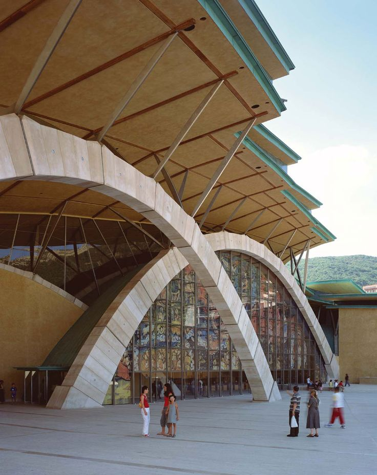 Renzo Piano Building Workshop - Projects - By Type - Padre Pio Pilgrimage Church
