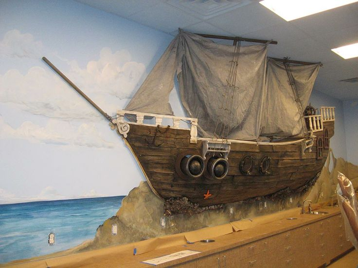 Perfect Pirate Ship Wall Mural   Google Search Part 27