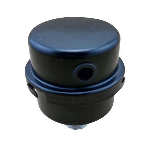 AUTO Black Metallic 1/2PT Air Compressor Filter Muffler Replacement