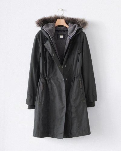 Image of Lined winter parka                                                                                                                                                                                 More