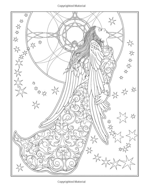 elegant printable adult coloring pages - photo#38