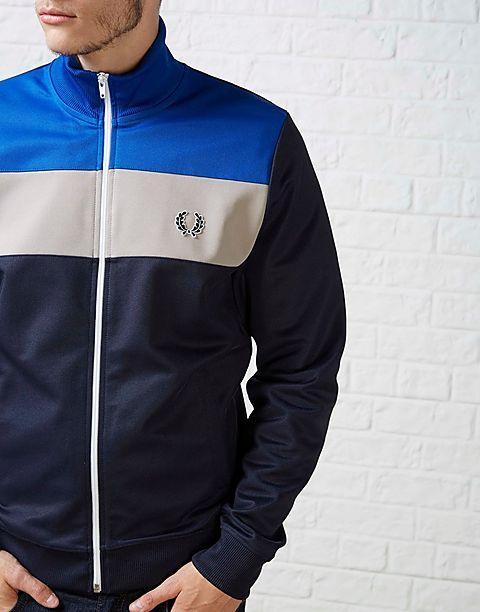 FRESH: Fred Perry ColourBlock Track Jacket #fredperry #retrosports