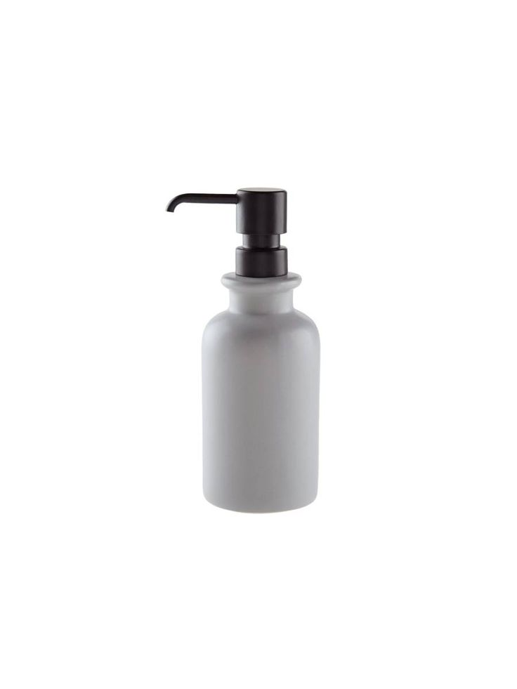 ceramic bathroom accessories marino silver soap dispenser h19 x w7cm