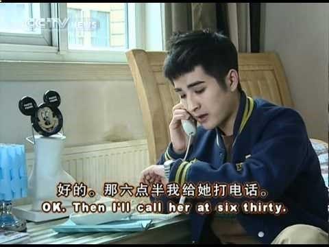 打错了;我找兰兰;不在; 到图书馆去了;有什么事;问英语作业的事。 [Learn to Speak Chinese] 成长汉语 How to Answer Phone Calls
