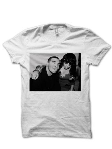 DRAKE & NICKI MINAJ T-SHIRT #tshirt #graphictee #awsome #tee #funnyshirt