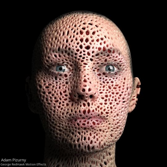 #GIF Adam Pizurny Trypophobia02 Collaboration with George Redhawk