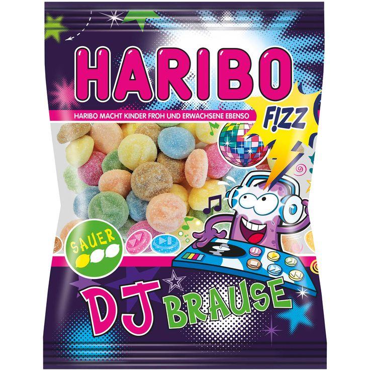 German confectioners Haribo have just launched a new range of 'DJ themed' sweets, called DJ Brause (which translates to 'DJ sherbert'). -- HARIBO DJ BRAUSE SAUER aus unserer sauren F!ZZ-Range bieten ein spritziges Gaumenerlebnis -- https://onlineshop.haribo.com/detail/index/sArticle/575