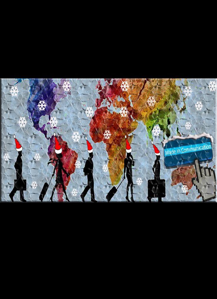 Si avvicina!! Merry Christmas! Feliz Navidad! Joyeux Noël! Merii Kurisumasu! Frohliche Weihnachten! Pozdrevlyayu s prazdnikom Rozhdestva is Novim Godom