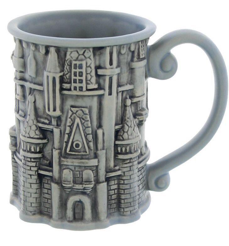 New Cinderella Castle Sculpted Coffee Mug Walt Disney World Parks Magic Kingdom   eBay