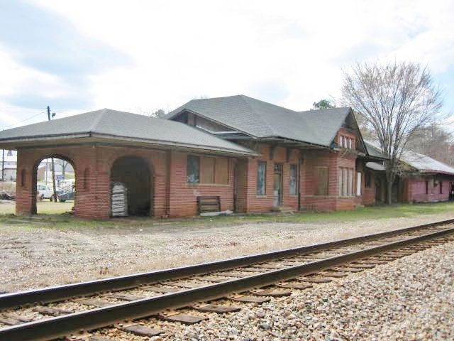 Greensboro Depot In Greene County Georgia