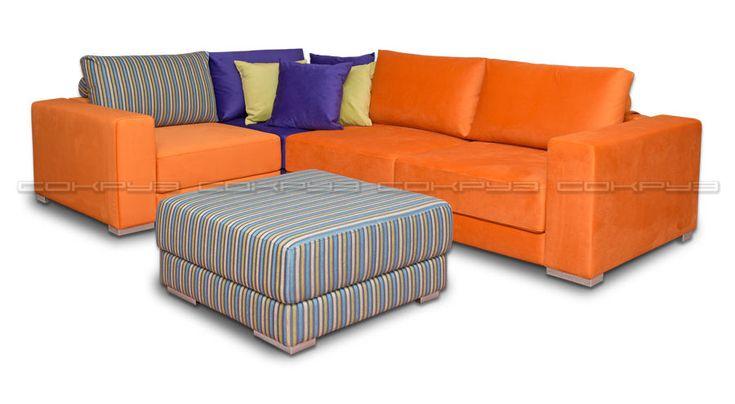 Диваны «Сокруз» от производителя! Диваны мебельной фабрики «Сокруз» купить недорого. Лучшие цены на диваны «сокруз» на официальном сайте производителя! Модульный диван Арно 2А.