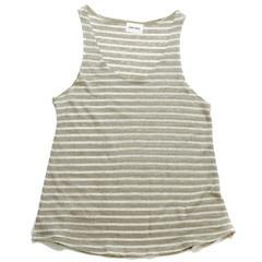 Frida Singlet - Cream Stripe