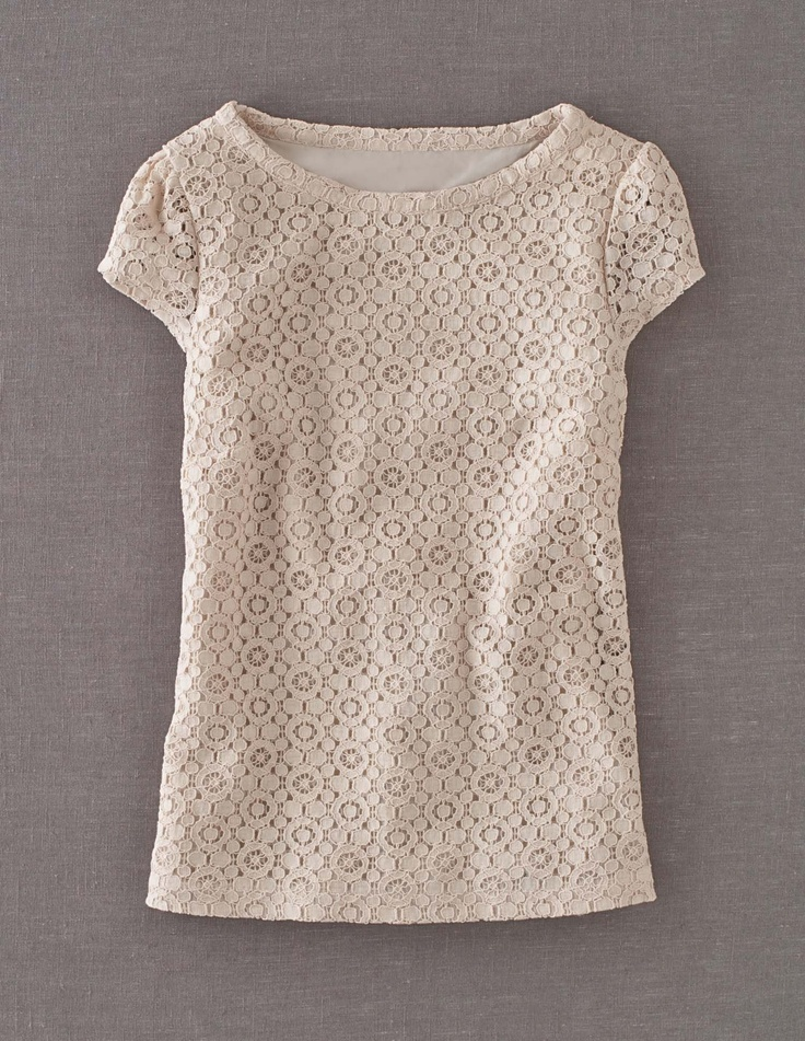 Lace TopTops 65, Casual Style, Lace Tops, Coral Jewelry, Boden Shirts Women, 2014 Womenswear, Vanilla Lace, Boden Lace, Boden Women