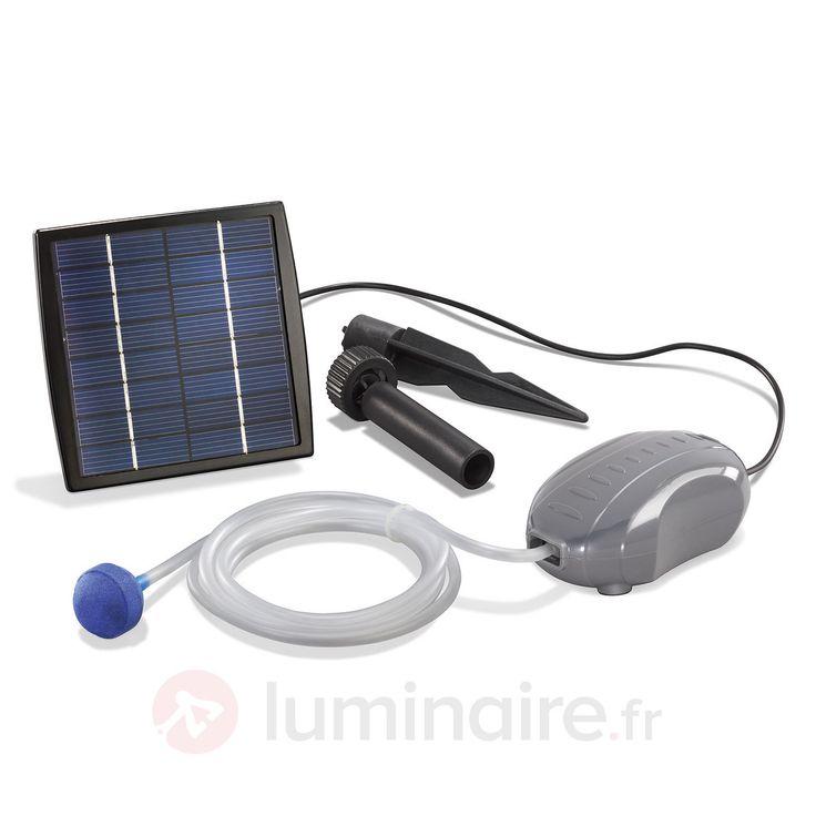 Aérateur d'étang solaire SOLAR AIR-S sicher & bequem online bestellen bei Lampenwelt.de.
