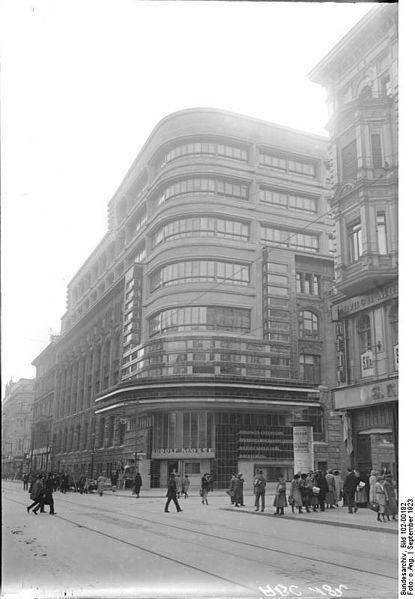 Mossehaus   Berlin, Germany   1923   Erich Mendelsohn