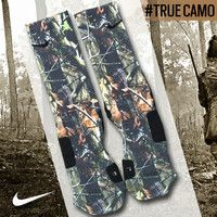 I WANT THESE Custom Nike Elite Socks - True Camo | Lacrosse Unlimited