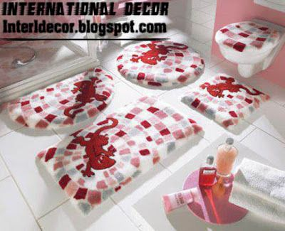 to can scroll in your bathroom you need for bathroom rug set so i provide 10 of modern bathroom rug sets models and colors for modern baths - Designer Bathroom Rugs