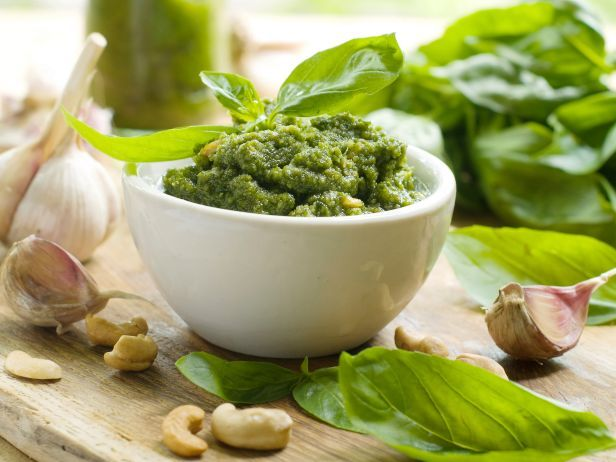 The Perfect Summer Pesto #Pesto #SummerBlue Chees, Food, Basilpesto, Dairy Free, Gluten Free Cooking, Pesto Recipe, Skirts Steak, Cottages Chees, Basil Pesto