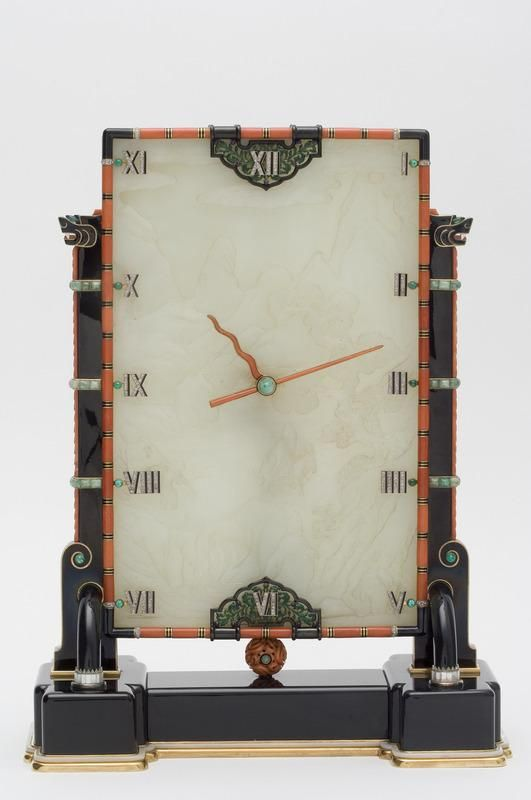 Louis Cartier and Maurice Couet ~ Clock ~ 1927
