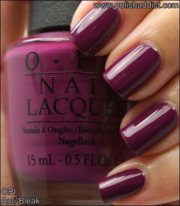 The Polish Addict » Blog Archive » OPI Mariah Carey Spring 2013 Collection Swatches Part 1 - OPI Anti Bleak