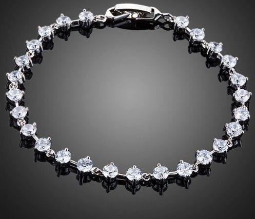 bratara mireasa cu cristale http://www.bijuteriifrumoase.ro/cumpara/brataria-eleganta-cubic-zirconia-890