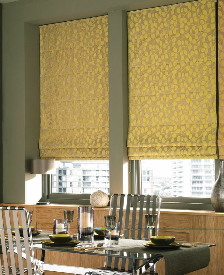 Stunning Patterned Roman Blinds From Barnes Blinds. Please Visit Us At  Www.barnesblinds.