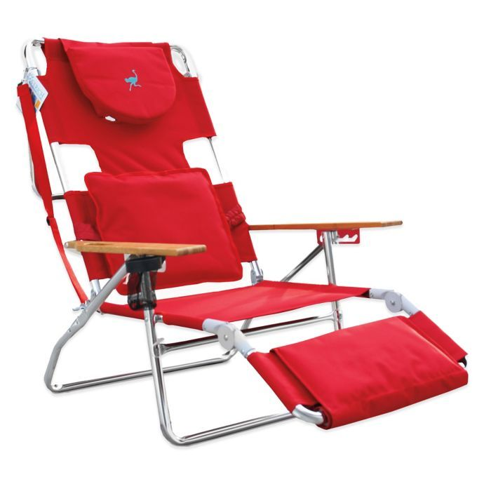 Awesome Ostrich 3 In 1 Deluxe Beach Chair Bed Bath Beyond A Frankydiablos Diy Chair Ideas Frankydiabloscom