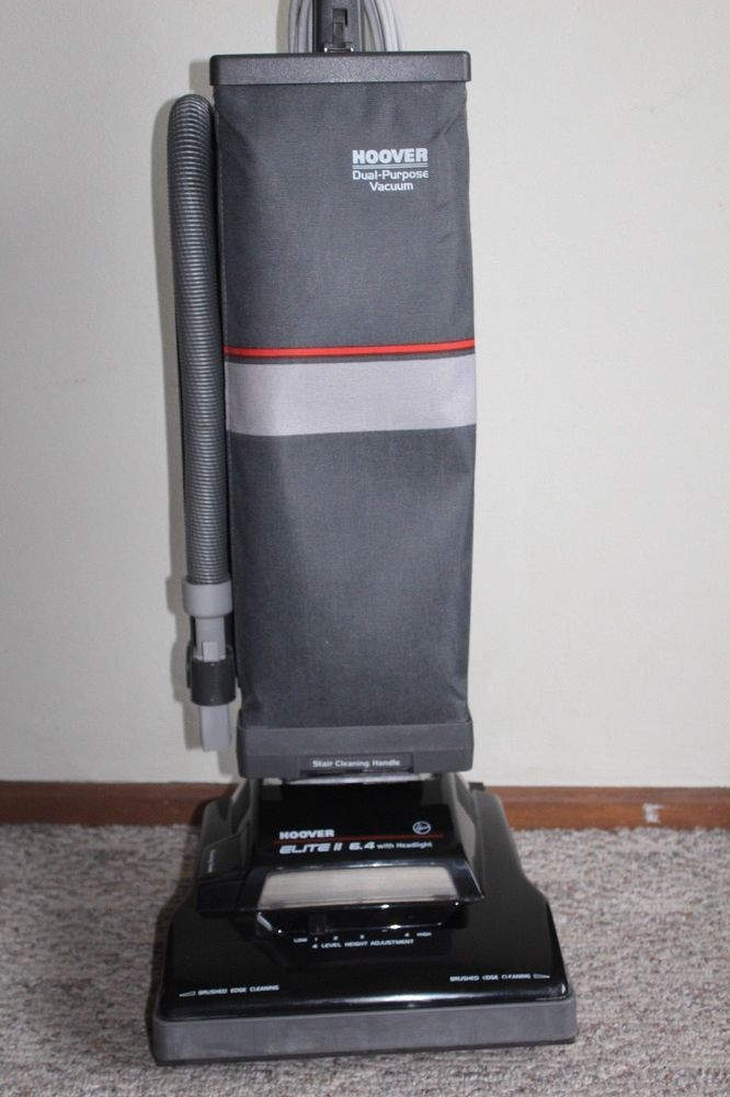 vintage hoover elite II upright vacuum cleaner u4713-910 made March 1992 kmart #Hoover