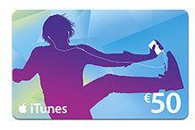Sorteo de una Tarjeta Regalo iTunes de 50€ - Sorteo GRATIS