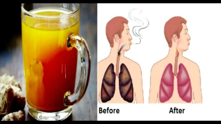 This Drink Will Cleanse Your Lungs Completely For All Smokers!