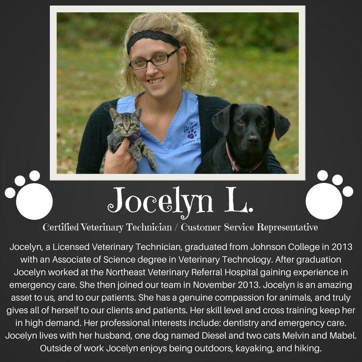 Jocelyn C.V.T. (With images) Veterinary technician