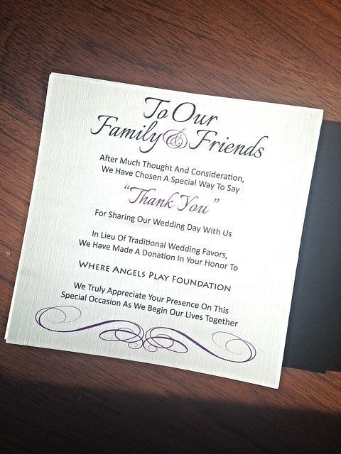 The 25 Best Donation Wedding Favors Ideas On Pinterest