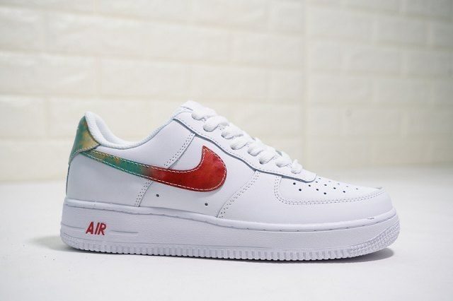 best loved 2948a b9b22 Nike Air Force 1 Low  07 White Rainbow 314218 131 Mens Womens Running Shoes