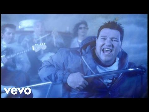 Smash Mouth- I'm A Believer. Steve is so cute.