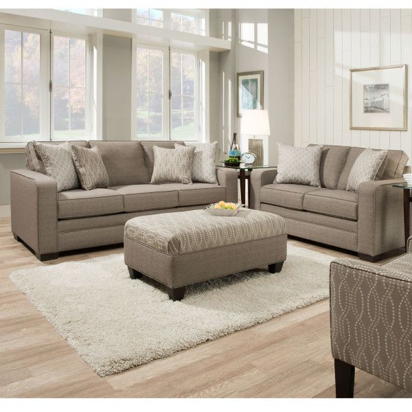 simmons modern furniture metal side table 2. simmons 9065 sofa seguin pewter hope home furnishings and flooring modern furniture metal side table 2