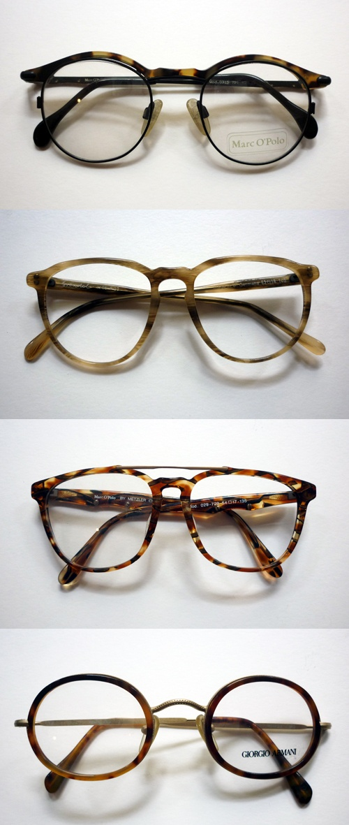 Love tortoiseshell round specs