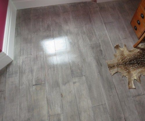 This post outlines pros and cons of plywood floors and includes links to instructions--including links on YouTube.