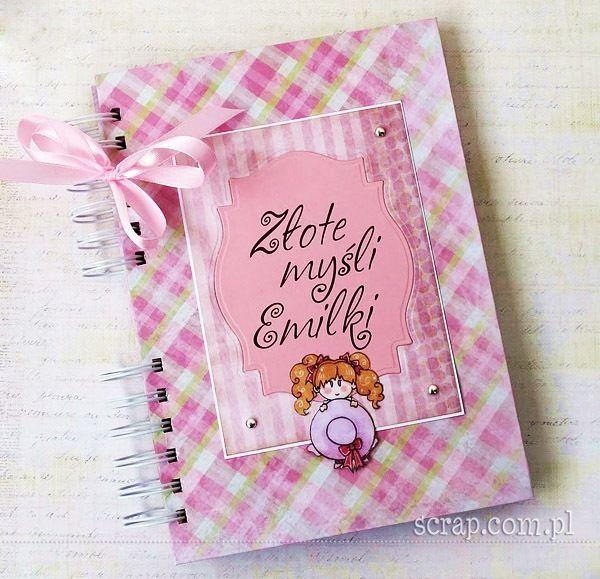 Wyjątkowy notes dla dziewczynki z papierami kolekcji Mała Księżniczka