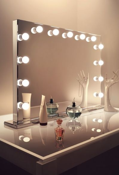 DIY Vanity Mirror With Lights for Bathroom and Makeup Station. Best 25  Hollywood vanity mirror ideas on Pinterest   Hollywood