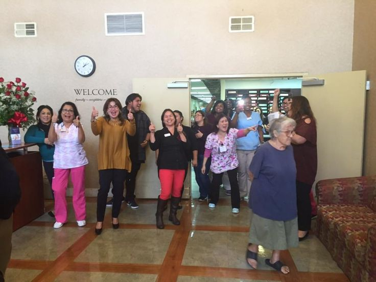 A Celebration Broke Out At California Nursing Home After Worker Was Told She