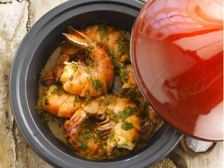 Avec les lectrices reporter de Femme Actuelle, découvrez les recettes de cuisine des internautes : Gambas à la chermoula