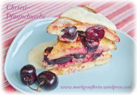 Markgräfler Chriesi-Pfannchueche – Kirschpfannkuchen