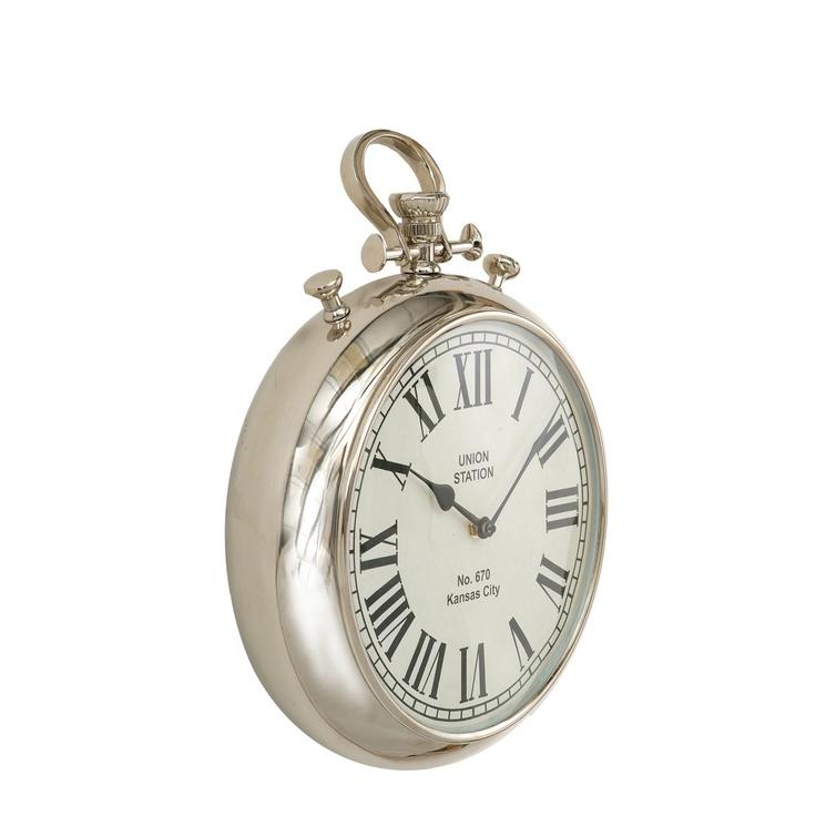 Libra Large Mock Alarm Wall Clock