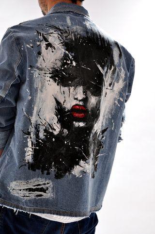 Jacheta handmade pentru barbati G3263Y, marca Different Cut