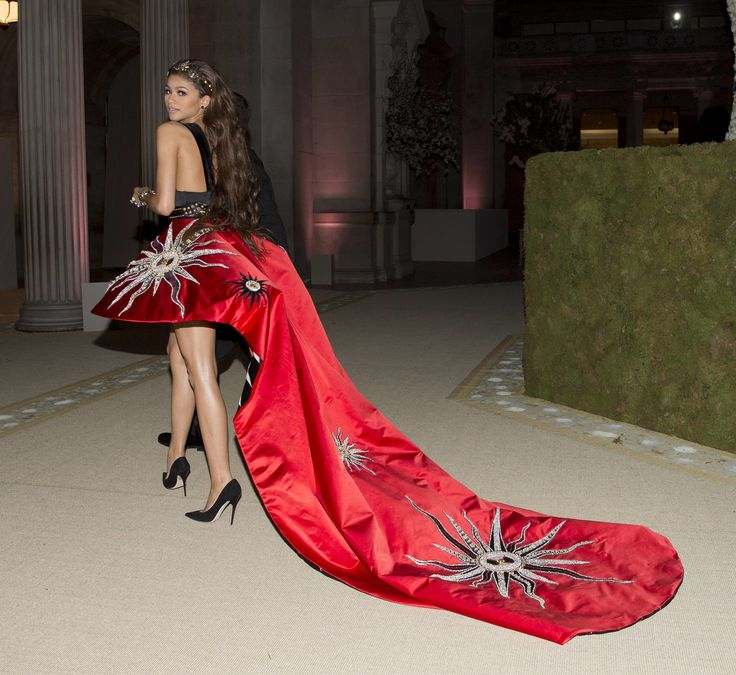 Zendaya in Fausto Puglisi at the Met Gala 2015