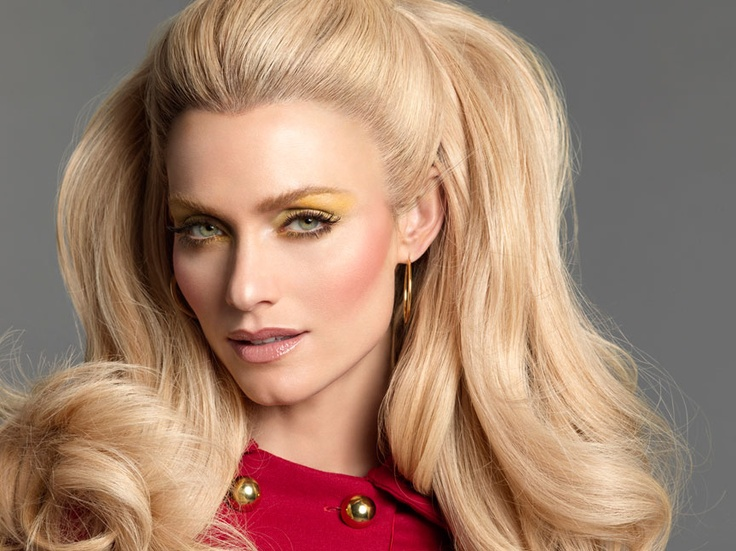 60's inspired Bridget Bardot hair from Nars ad.